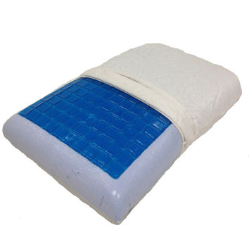 King Cool Gel Memory Foam Pillow by Royal Tradition (each)