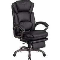 High Back Black Leather Executive Reclining Swivel Office Chair [BT-90279H-GG]