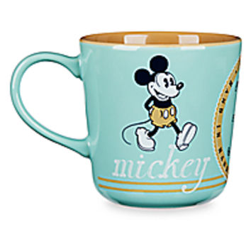 Mickey and Minnie Mouse Color Contrast Mug