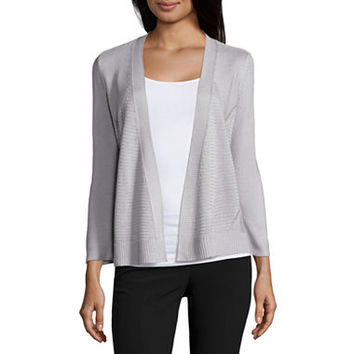 Worthington Textured Cardigan - JCPenney