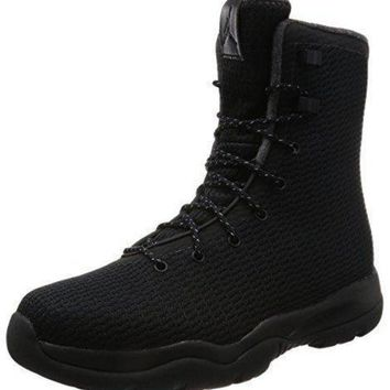 Nike Mens Jordan Future Boot (11 D(M) US, BLACK/BLACK-DARK GREY)