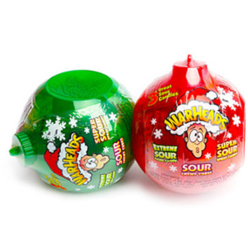 WarHeads Assorted Candy Ornament: 2-Piece Set