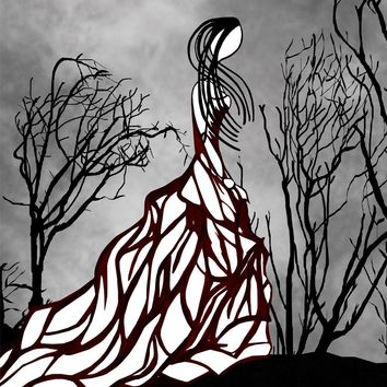 Lost in the Woods Fashion Illustration