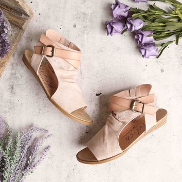 blowfish - balla sandal - blush