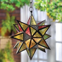 Moroccan-Style Star Lantern  from Jannie's LiveDeals