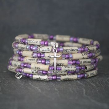 Othello by Shakespeare Bracelet in Purple