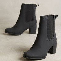 Jeffrey Campbell Clima Rain Boots in Black Matte Size: