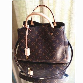 DCCKU62 LV Louis Vuitton Shoulder Bag Female Inclined Shoulder Bag