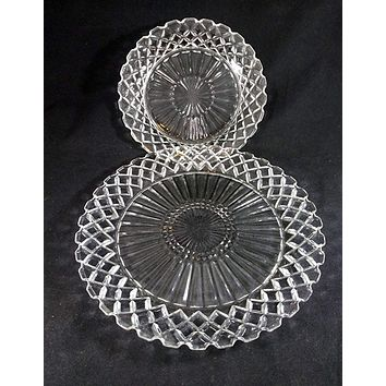 Anchor Hocking Wexford Dinner And Salad Plates