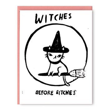 Witches Before Bitches Card