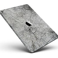 """Aged Cracked Tree Stump Core Full Body Skin for the iPad Pro (12.9"""" or 9.7"""" available)"""