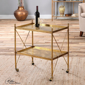 Amaranto Gold Serving / Drink Cart
