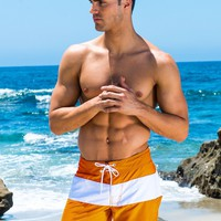 Orange Cali Surf Short