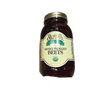 Safie Beets Home Style Sweet Pickled Beets, 32oz Glass Jar