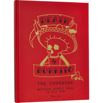 Death By Burrito Cook Book - Food Gifts - Gifts - TK Maxx