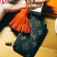Ianlaynedesigns :【Louis Vuitton】LV Women Girl Small Bag Monogram Canvas Key Pouch
