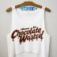 Chocolate Wasted Crop Top | fresh-tops.com
