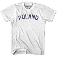 Poland City Vintage T-shirt