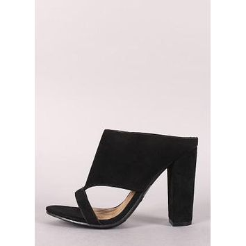 LITTLE SUEDE MULE