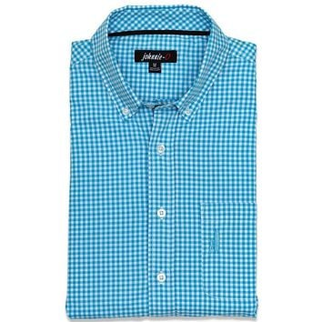 The Berner Button-Down in Blue Mist by Johnnie-O - FINAL SALE