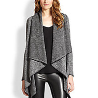 Bailey 44 - Draped Knit Blanket Jacket - Saks Fifth Avenue Mobile