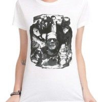 Universal Monsters Collage Girls T-Shirt
