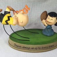 Peanuts Gang - There's Always an Up to Every Down Charlie Brown Hallmark 2011
