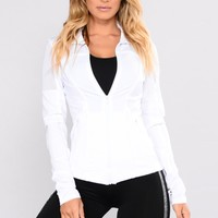 Katia Mesh Active Jacket - White