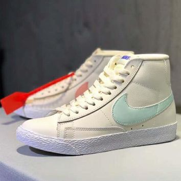 Nike Blazer Mid 2019 new high-top men and women casual wild sports shoes