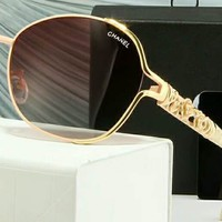 CHANEL new personality polarized women's sunglasses F-A-SDYJ NO.3