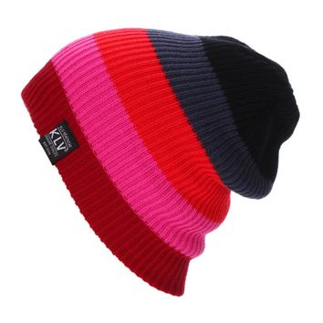 New Outdoor Camping Hinking Womens Warmer Cap Men Women Baggy Winter Hat Ski Slouchy Chic Cap Sombrero