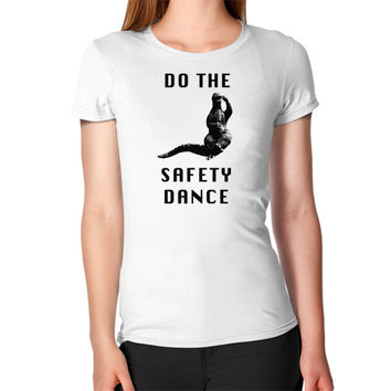 Godzilla safety dance Women's T-Shirt
