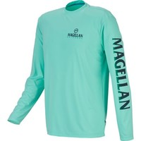 Magellan Outdoors™ Men's Long Sleeve Performance Fish Crew | Academy