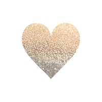 *** GATSBY GOLD HEART *** Art Print by Monika Strigel the PERFECT XMAS GIFT !!! Let it sparkle!