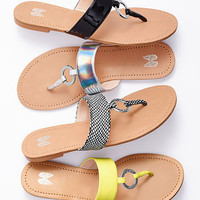 Monogram O-ring Sandal - VS Collection - Victoria's Secret