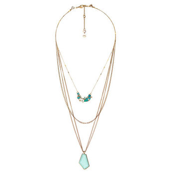 Aquamarina Convertible Pendant Necklace