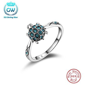 925 sterling silver jewelry  Turtle Ring Wedding & Engagement Fashion Rings  For Women   Promotion 50% Off  Ripy013