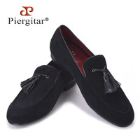 New Cotton Men Shoes With Leather Tassels Handmade Men Men Wedding and Party Shoe Men Flats