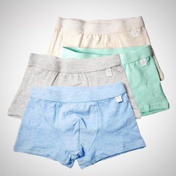 4-Pack Soft Organic Cotton Underwear