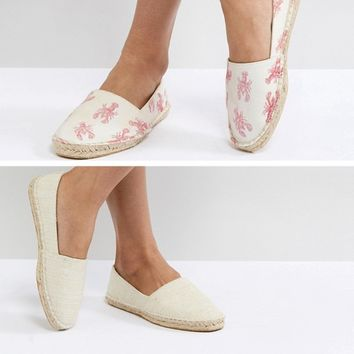 ASOS JALLY Two Pack Espadrilles at asos.com