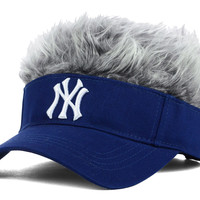 New York Yankees Flair Hair Visor