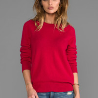 Equipment Sloan Crew Neck Sweater in Persian Red from REVOLVEclothing.com