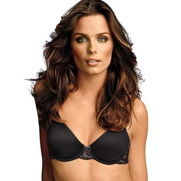 Maidenform; Comfort Devotion; Embellished Demi T-Shirt Bra