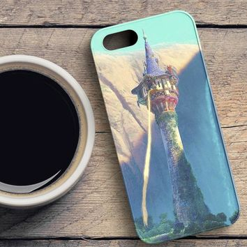 Tangled Starts With The Sun iPhone SE Case