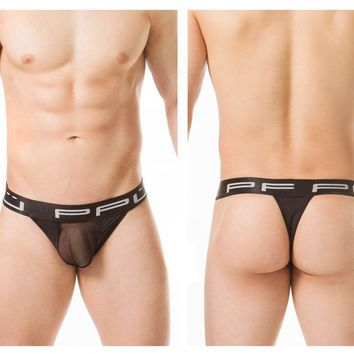 PPU 1803 Thongs Color Black