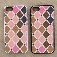 Cute Abstract Geometric Pattern iPhone Case, iPhone 5 Case, iPhone 4S Case, iPhone 4 Case - SKU: 217