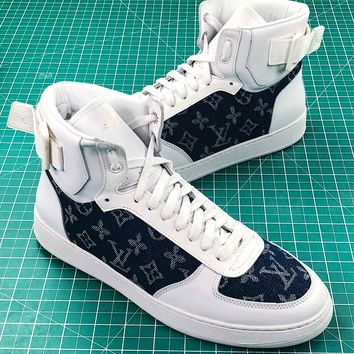 Louis Vuitton Lv Rivoli High Sneaker - Best Online Sale