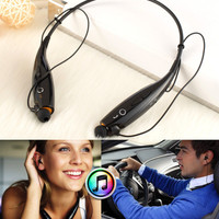 Wireless Bluetooth Headset Headphone Sport Stereo Hands-free Earphone for iphone