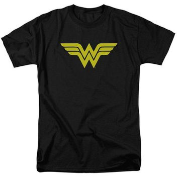 DCCKM83 Wonder Woman Logo Short Sleeve Adult 18/1