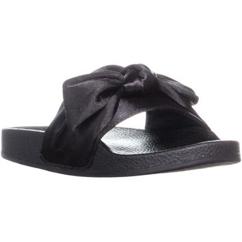 Carlos by Carlos Santana Bayside Slide Sandals, Black, 9 US / 39 EU
